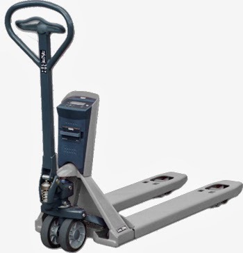 New BACSA's Hand Pallet Truck Scale R-2100L Stainless Steel