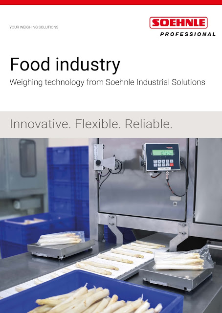 Soehnle unveils New Food Industry Flyer