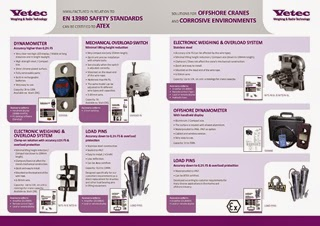 New Brochure from Vetec - High Quality Load Cells for Hoists and Cranes