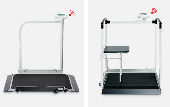 Seca Multifunction and Wheelchair Scales now Wireless