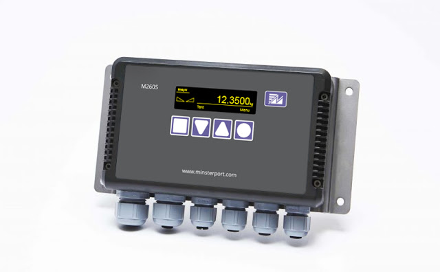 Minsterport introduced the M260S Load Cell Amplifier and Digital Display