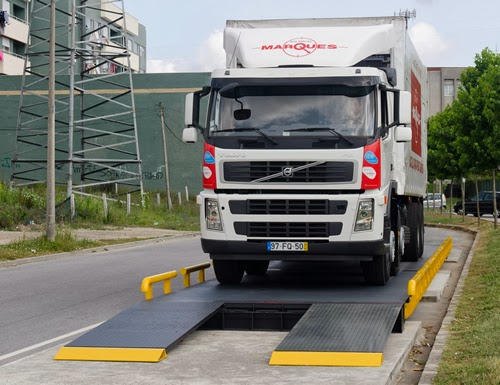 Balanças Marques' New Weighbridge PCM M1500 for weighing trucks