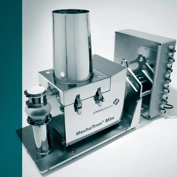 Schenck Process MechaTron® Min: the mini loss-in-weight feeder