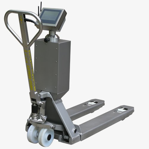 New ProLine Touch Pallet Truck Scale with Touch Screen Indicator from RAVAS