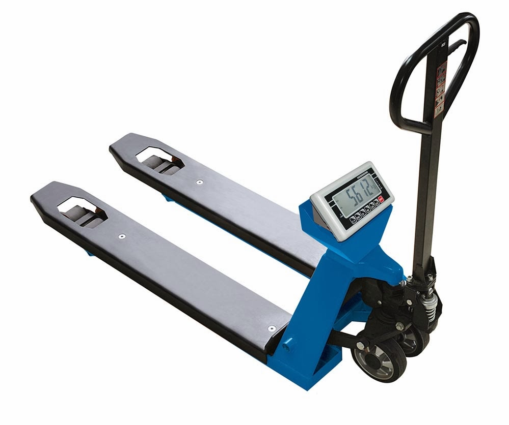 New Pallet Jack Scale from Totalcomp Inc.