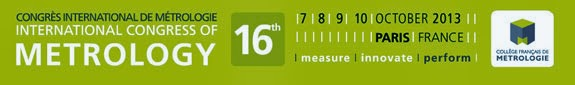 International Metrology Congress France 2013