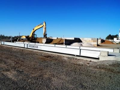 Accuweigh's Heavy Duty Weighbridge for Aggregates and Quarry Supplier
