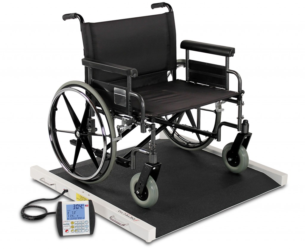 Detecto Scale's BRW1000 Bariatric Wheelchair Scale Demo Video