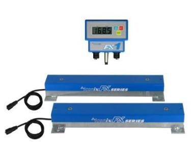 Load Bar Scales weighing blast samples