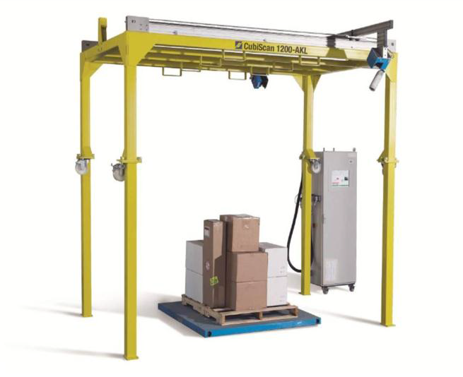 Video showing Scaco's CubiScan AKL 1200 at Hunter Express