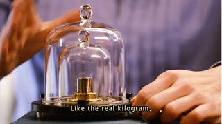 A documentary film about the Kilogram and the scientific efforts to redefine it