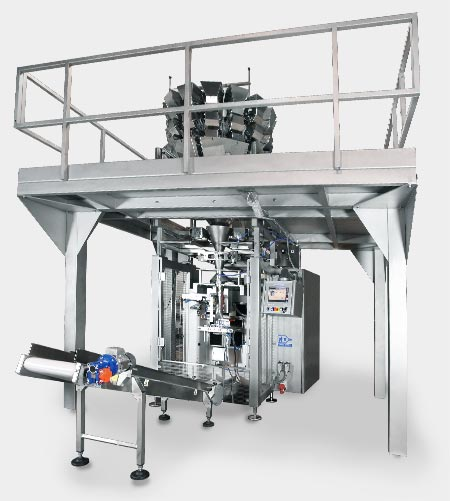 MBP 14C2 DMA and PFM Solaris grated cheese weighing and packaging line