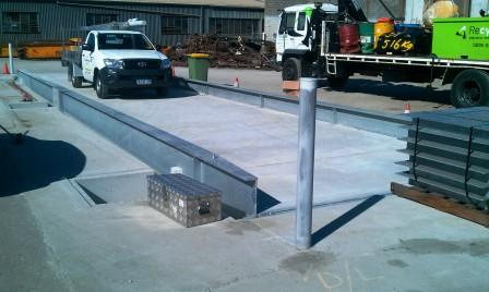 Semi-Pit Weighbridge Minimises Footprint For QLD Recycler