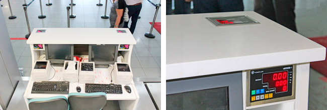 Check-in operations are faster than ever with FlyLine Baggage Weighing System