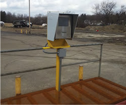 B-TEK DD2050 unattended terminals installed at salt reserve
