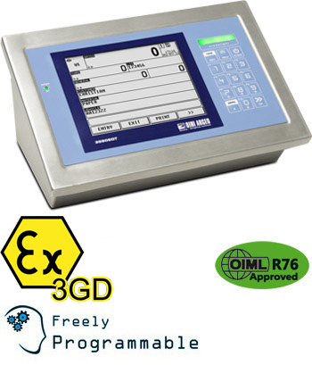 Dini Argeo's new DFWLKI3GDB indicator for ATEX zones