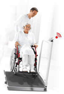Seca's multifunction and wheelchair scales now with wireless