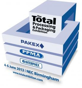 The Total Processing & Packaging Exhibition United Kingdom 2013