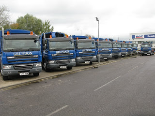 Market Drives Grundon's New Bin Weighing Fleet