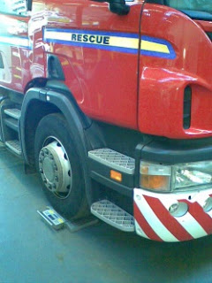 Axle Weigh Pads extinguish overloading concerns for Fire Service