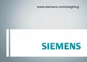 Siemens is a weighing company