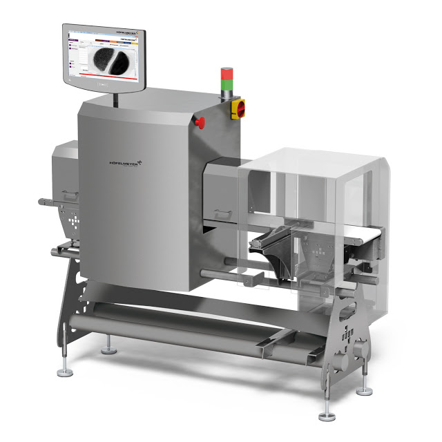 Top production quality thanks to an optimally embedded X-ray Inspection from Höfelmeyer Waagen
