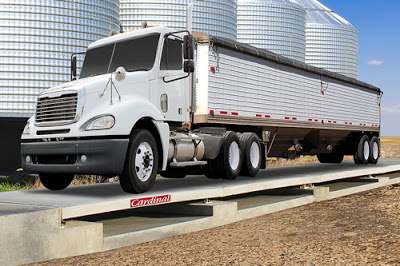 Cardinal's New Harvester® Precast Concrete Deck Truck Scales for Agricultural Weighing