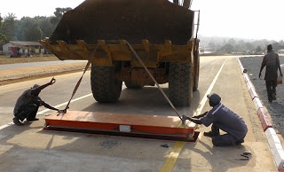New axle load control stations installed on Sierra Leone–Guinea border