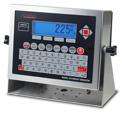 Cardinal Scale's Multifunctional 225 Navigator Weight Indicator
