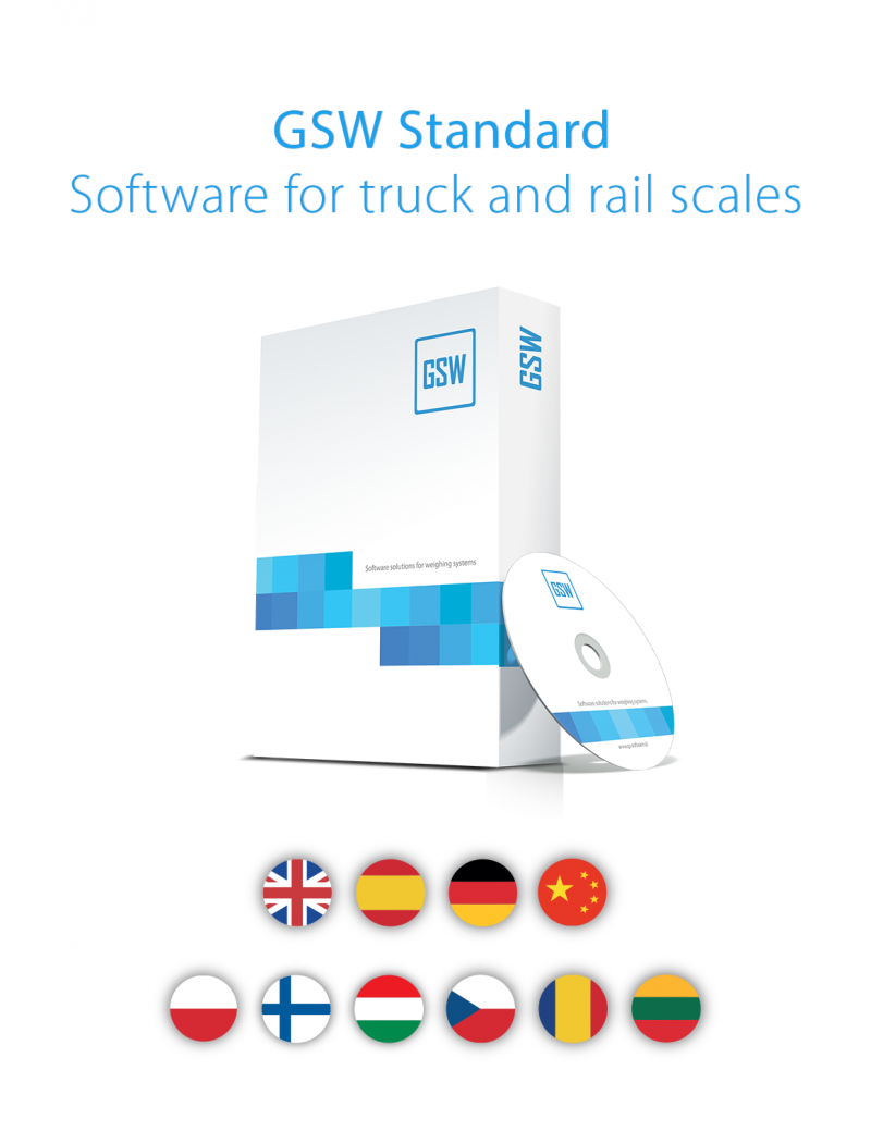 GSW Standard Software for Truck and Rail Scales