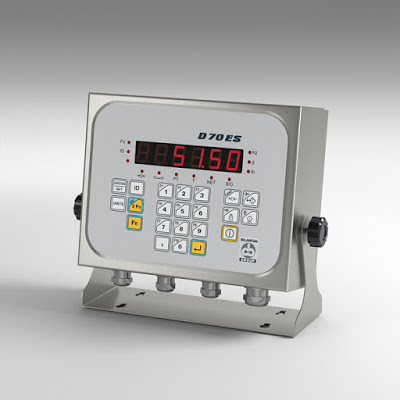 Coop. Bilanciai's New Terminal D70 ES Desk and Universal Mount Indicator/Controller
