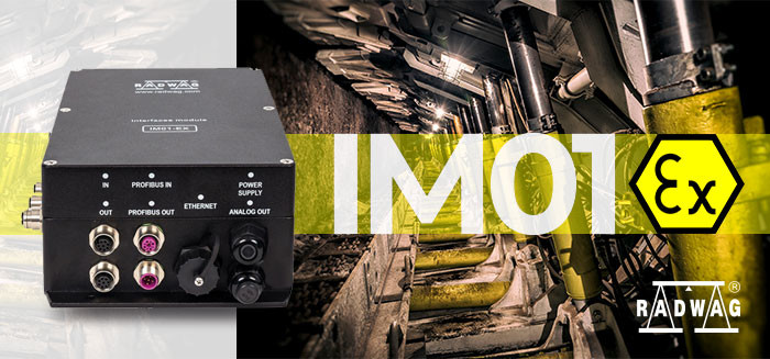 Expand Communication Interfaces Range of the ATEX-Compliant Indicator - IM01EX by RADWAG