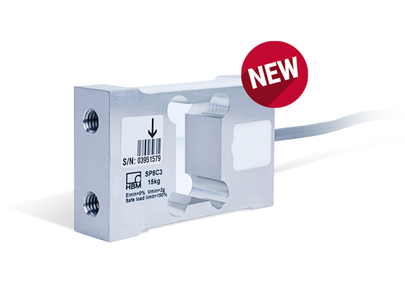 New HBM SP8 Load Cell for Multihead Combination Weighers