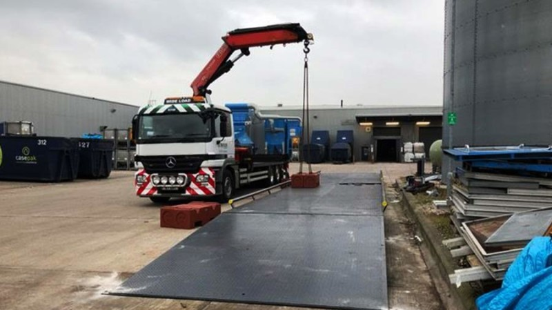 20 meter Weighbridge for Paper Recycling Plant