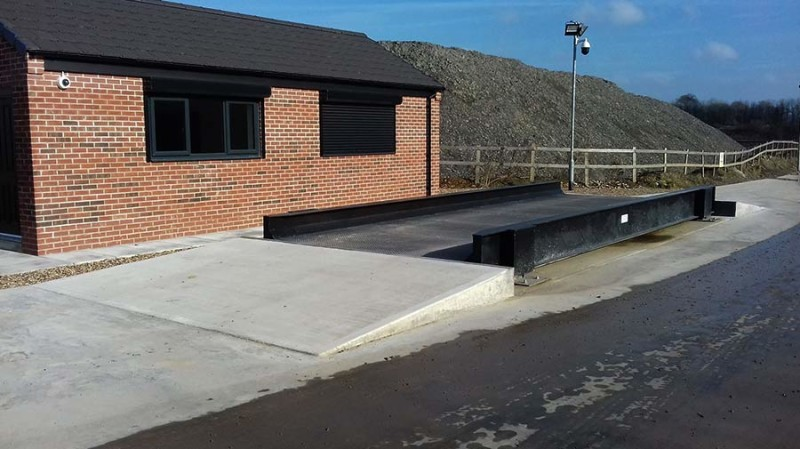 Unmanned Weighbridge for Builders Merchants