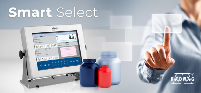 RADWAG 'Smart Select' - Product Identification by Mass