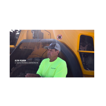 HLC-2000 Wheel Loader Scale helps A.L. Hearon Trucking & Contracting increase profits