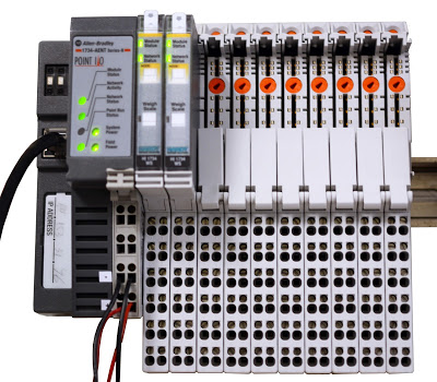 Hardy's HI 1734-WS POINT I/O Weight Processing Modules Breathe New Life Into An Aging Machine