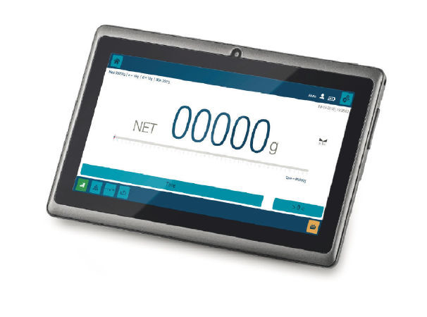 KERN & SOHN's New KTA-T Multifunctional Tablet for Weighing