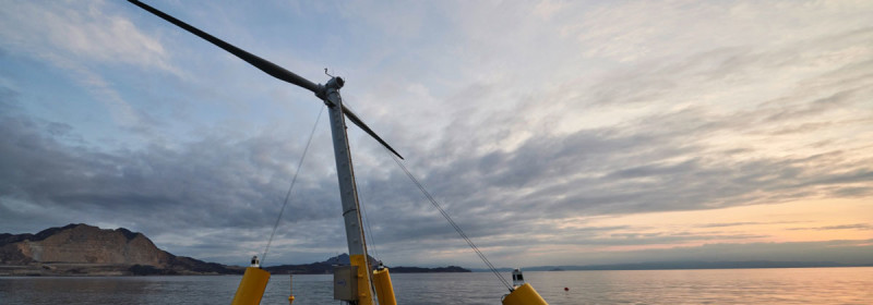 Aerodyn Engineering Uses HBM's High-Precision S9M Force Sensor to Test Innovative Offshore Wind Turbines