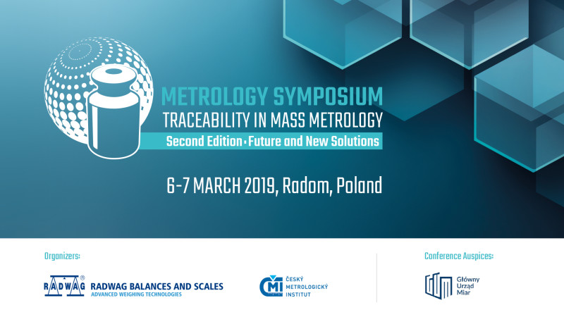 Metrology Symposium 'Traceability In Mass Metrology', Second Edition – Future and New Solutions