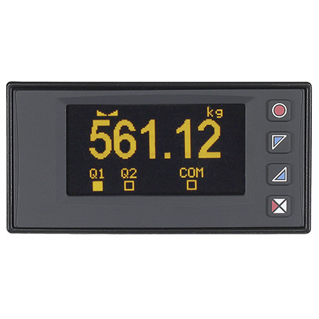 New Graphical Display High Speed Panel Meter with Strain-Gauge Input from OMEGA