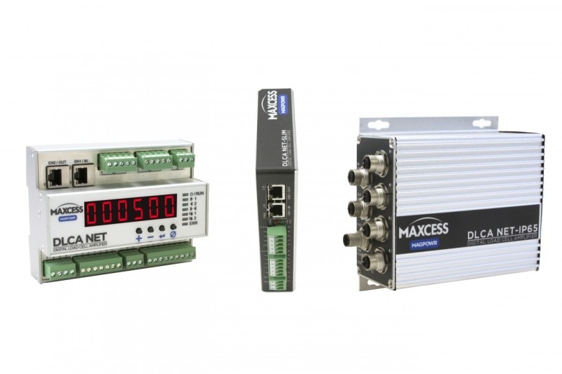 Maxcess Announces New Load Cell Amplifiers with Networking Capabilities from MAGPOWR