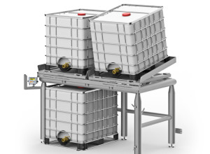 Product innovation: Höfelmeyer IBC Weighing Station with Tilting Function