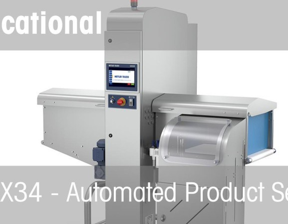 Automated Product Set-up of the Mettler Toledo X34 X-ray Inspection System