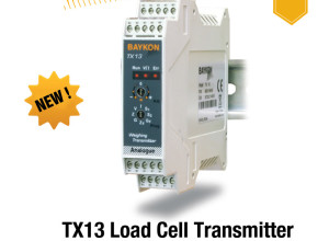 Baykon's New TX13 Load Cell Transmitter