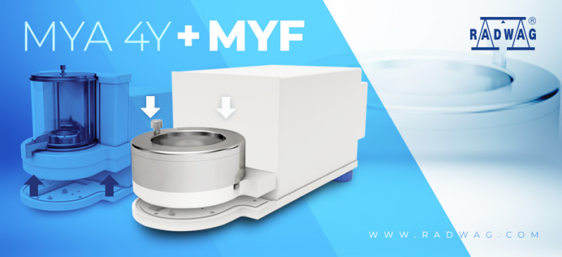 Expanded RADWAG UYA 4Y and MYA 4Y Functionality - Filter Weighing