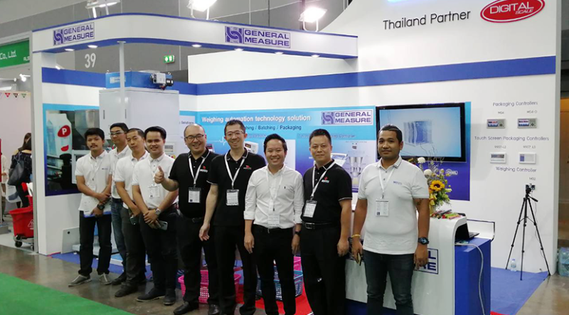 General Measure with Thai Partner Digital Scale in Asia Propack