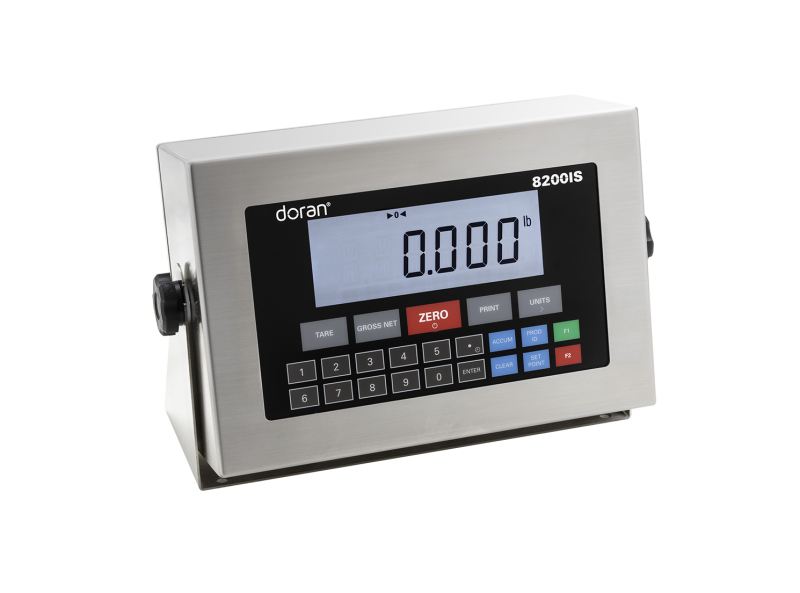 New Intrinsically Safe 8100IS and 8200IS Weighing Indicators by Doran Scales