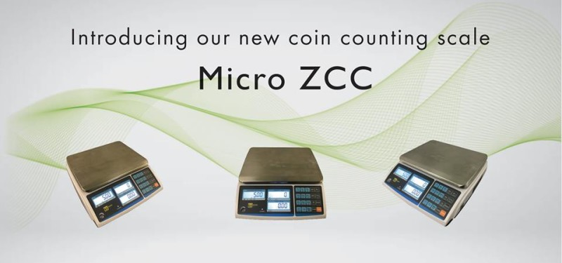 The new Coin Counting Scale Micro ZCC from Scalerite